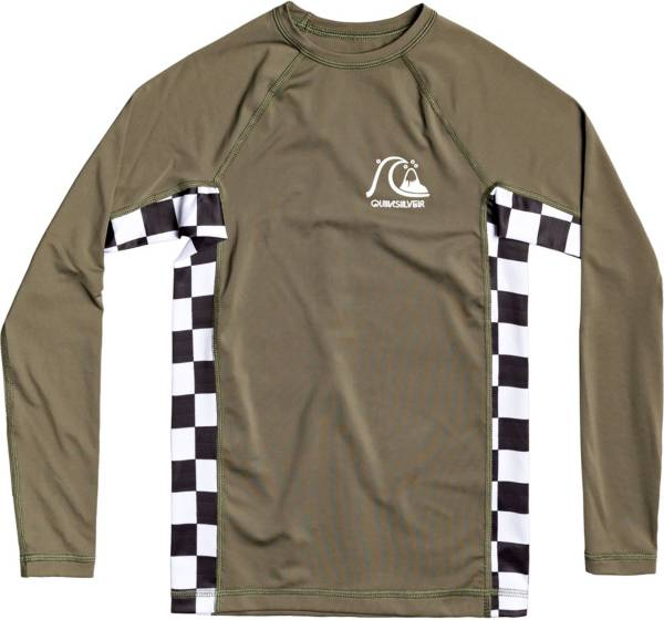 Quiksilver Boy's Check This Long Sleeve Rashguard T-Shirt product image