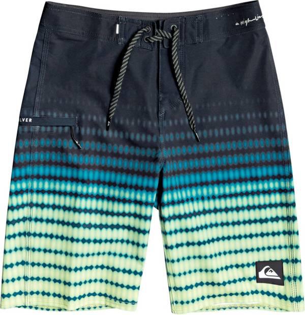 Quiksilver Boy's Highline Upsurge Youth 19 Swim Trunks product image