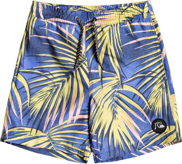 Quiksilver Boy's Tropical Flow Volley 15 Swim Trunks product image