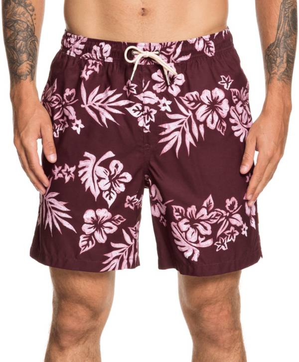 Quiksilver Men's Waterman Floral Feelings Volley Board Shorts product image