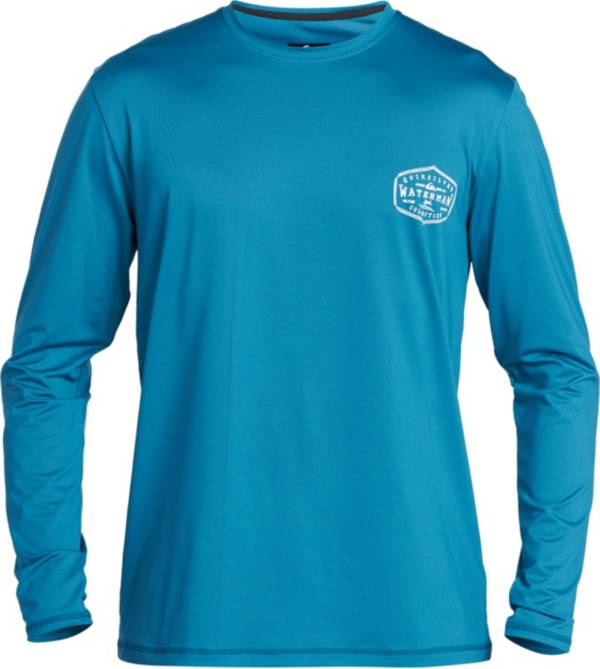 Quiksilver Men's Waterman Gut Check Long Sleeve Rash Guard product image