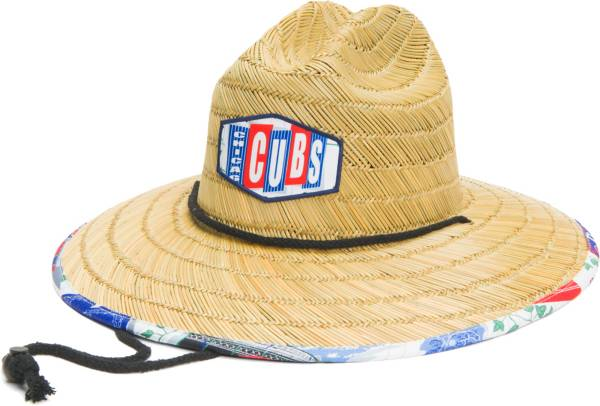 Reyn Spooner Men's Chicago Cubs Tan Straw Hat product image