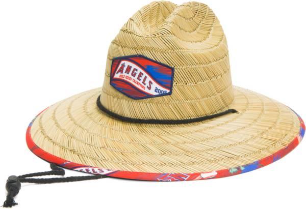 Reyn Spooner Men's Los Angeles Angels Tan Straw Hat product image