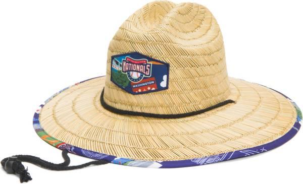 Reyn Spooner Men's Washington Nationals Tan Straw Hat product image