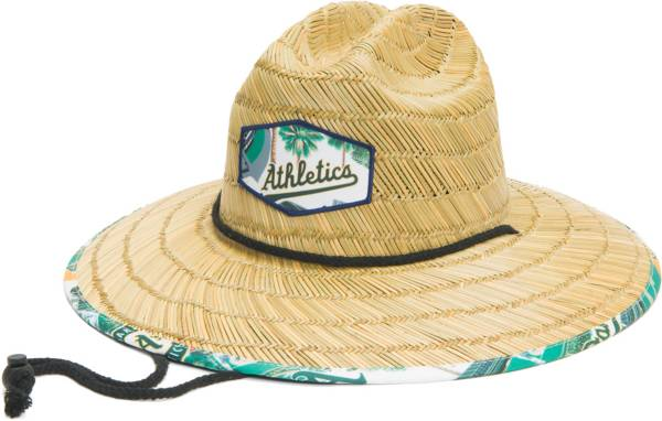 Reyn Spooner Men's Oakland Athletics Tan Straw Hat product image