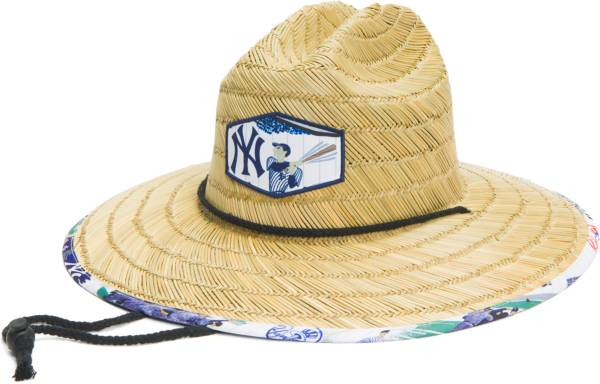 Reyn Spooner New York Yankees White Scenic Straw Hat product image