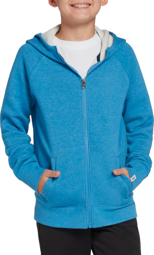 DSG Boys' Heather Fleece Full Zip Hoodie product image