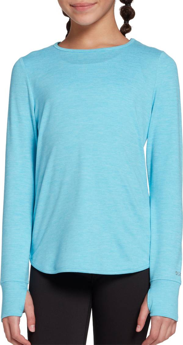 DSG Girls' Cross Back 24/7 Long Sleeve Shirt product image