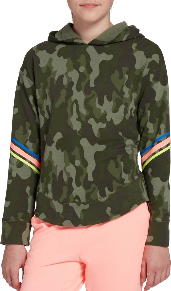 DSG Girls' Fleece Curved Hem Hoodie product image