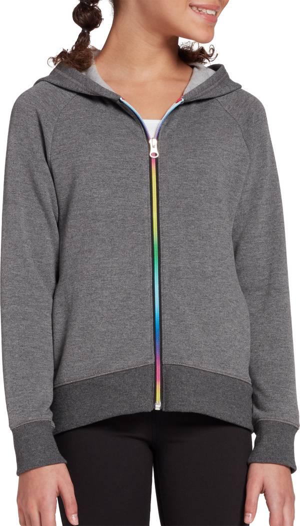 DSG Girls' Everyday Cotton Fleece Full Zip Hoodie product image