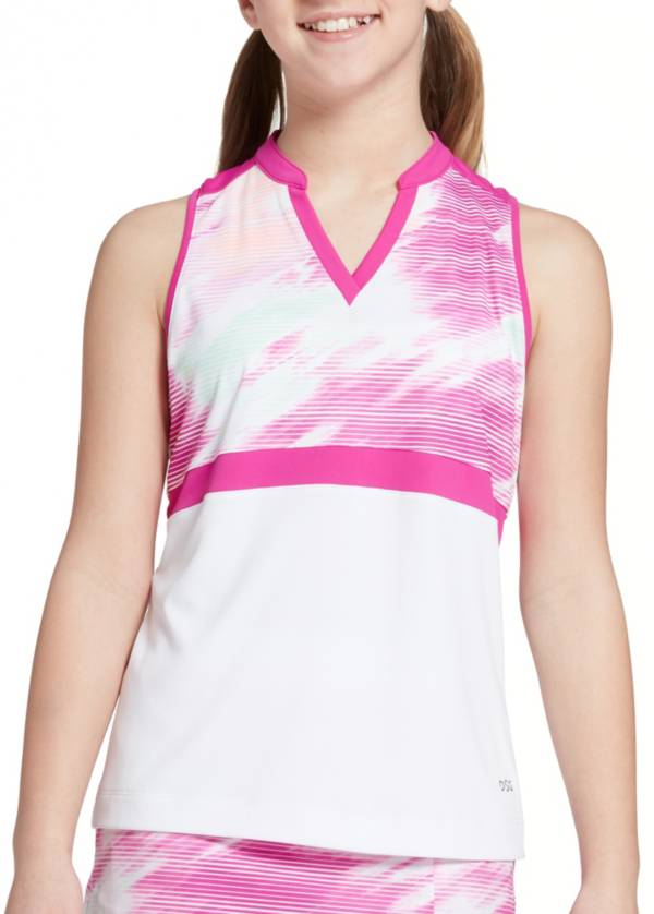 DSG Girls' Motion Blur Sleeveless Golf Polo product image