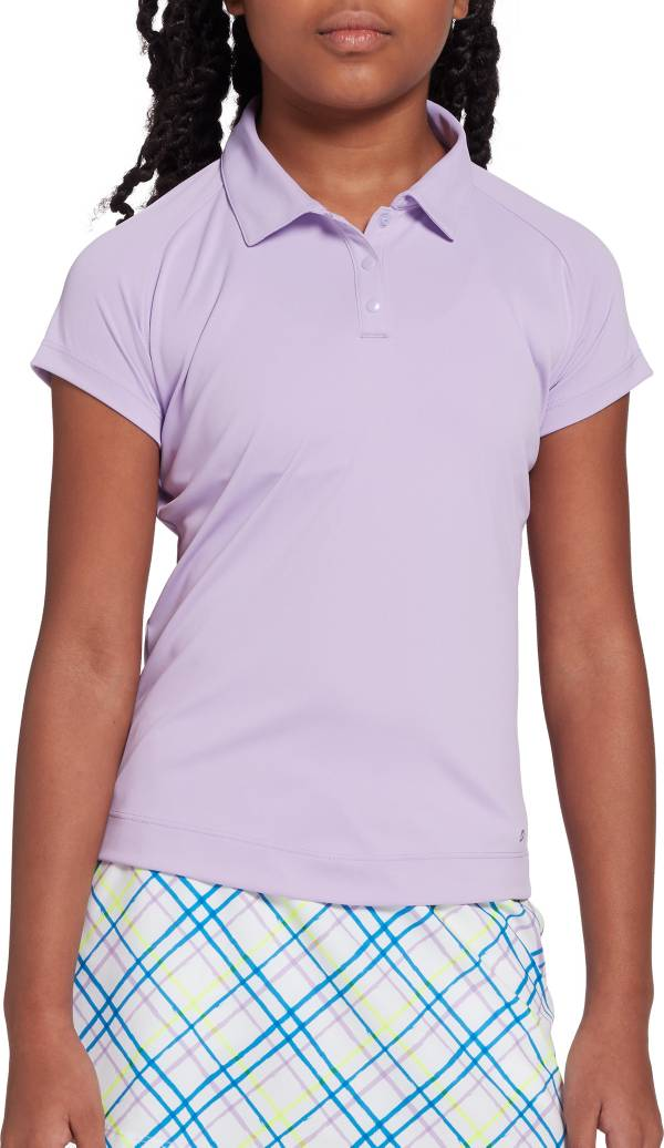 DSG Girls' Solid Short Sleeve Golf Polo product image