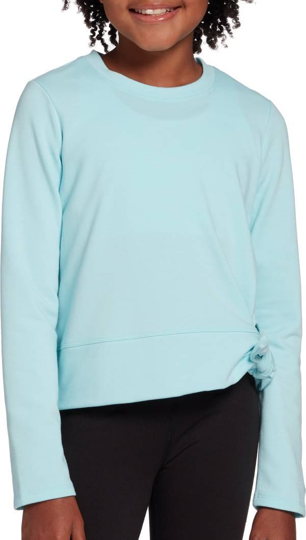 DSG Girls' Side Tie Crew Neck Long Sleeve Shirt product image
