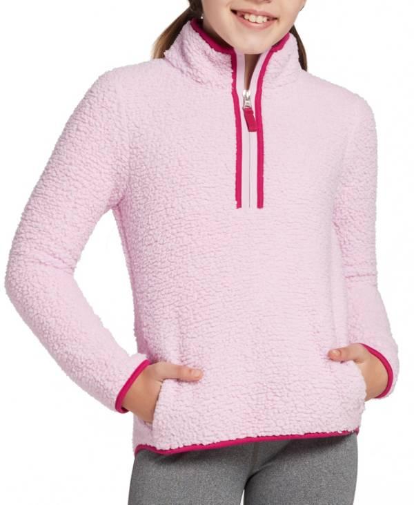 DSG Girls' Sherpa 1/4 Zip Jacket product image