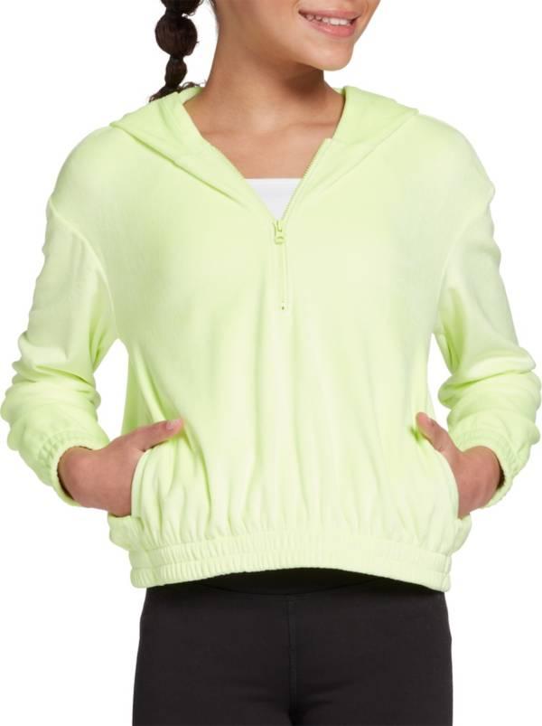 DSG Girls' Velour 1/4 Zip Hoodie product image