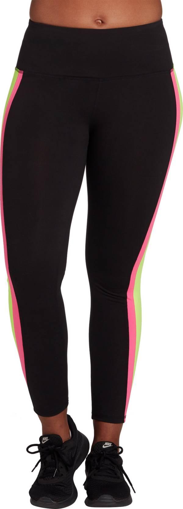 DSG Women's Neon Side Stripe Leggings (Regular and Plus) product image