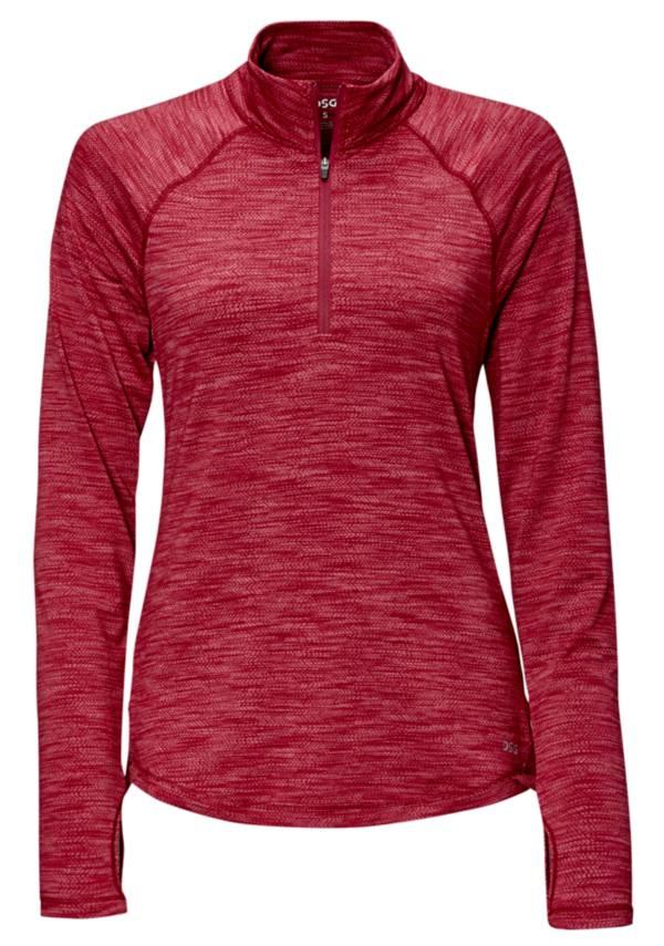 DSG Women's Performance ¼ Zip Long Sleeve Shirt product image