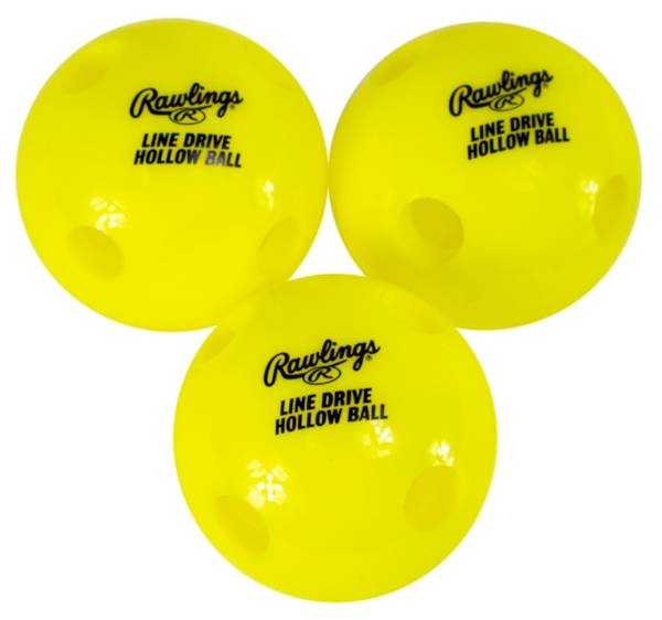 Rawlings Line-Drive Hollow Balls - 3 Pack product image