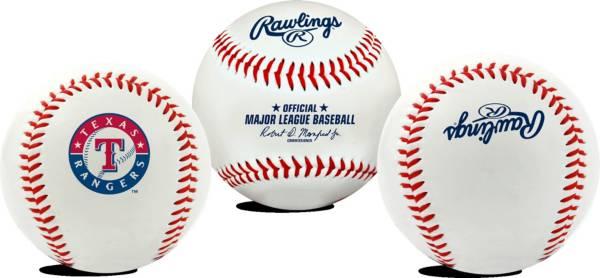 Rawlings Texas Rangers Emblem Logo Baseball product image