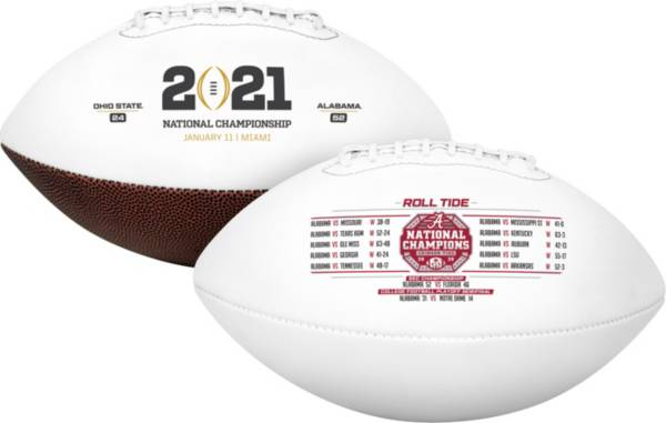 Rawlings 2020 National Champions Alabama Crimson Tide Full-Size Football product image