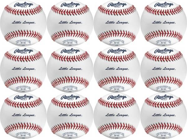 Rawlings Little League RLLB1 Baseballs - 12 Pack product image