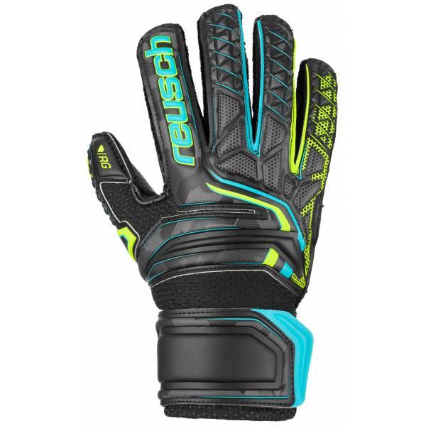 Reusch Junior Attrakt RG Open Cuff Finger Support Soccer Goalkeeper Gloves product image