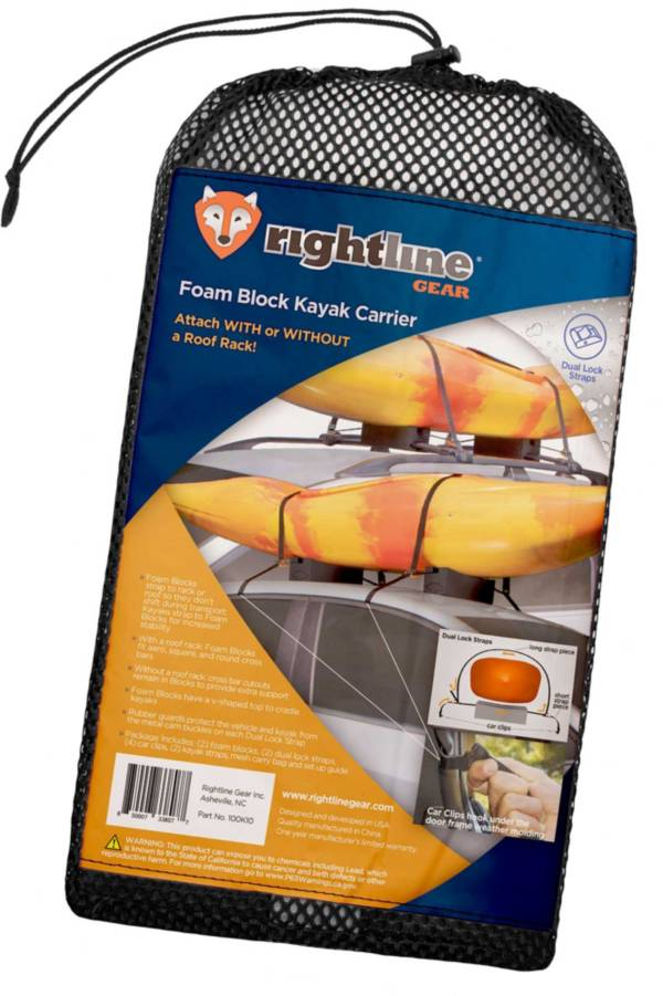 Rightline Gear Foam Block Kayak Carrier product image