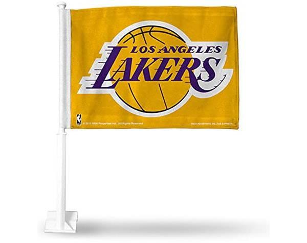 Rico Los Angeles Lakers Black Car Flag product image