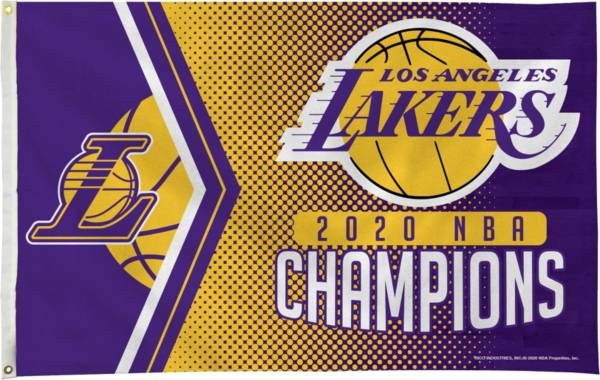 Rico 2020 NBA Champions Los Angeles Lakers 3' x 5' Banner Flag product image