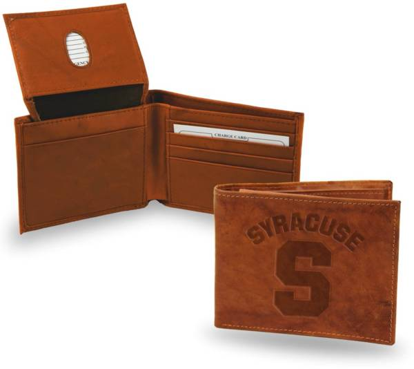Rico Syracuse Orange Embossed Billfold Wallet product image