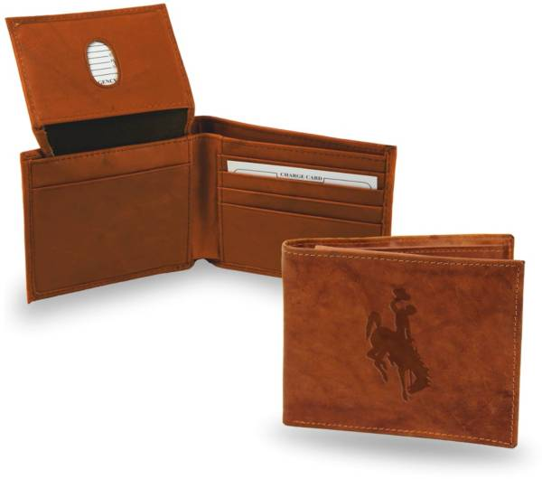 Rico Wyoming Cowboys Embossed Billfold Wallet product image