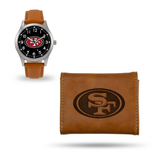 Rico Men's San Francisco 49ers Watch and Wallet Set product image