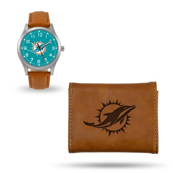 Rico Men's Miami Dolphins Watch and Wallet Set product image
