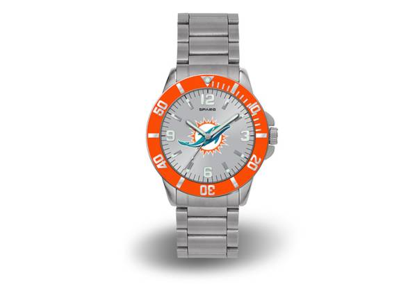 Rico Men's Miami Dolphins Sparo Key Watch product image