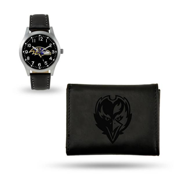 Rico Men's Baltimore Ravens Watch and Wallet Set product image