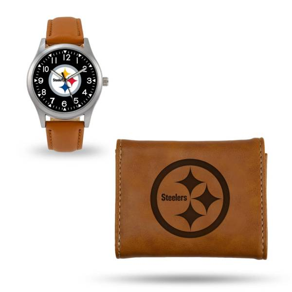 Rico Men's Pittsburgh Steelers Watch and Wallet Set product image