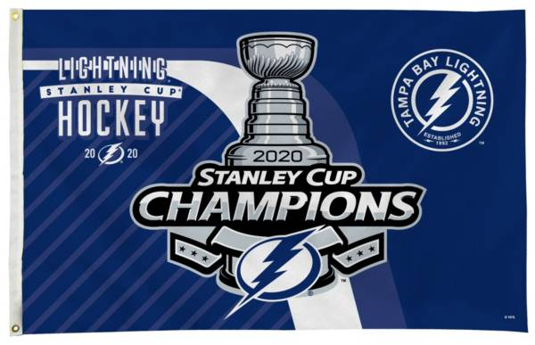 Rico 2020 Stanley Cup Champions Tampa Bay Lightning Banner Flag product image