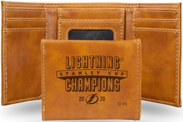 Rico 2020 Stanley Cup Champions Tampa Bay Lightning Laser-Engraved Trifold product image