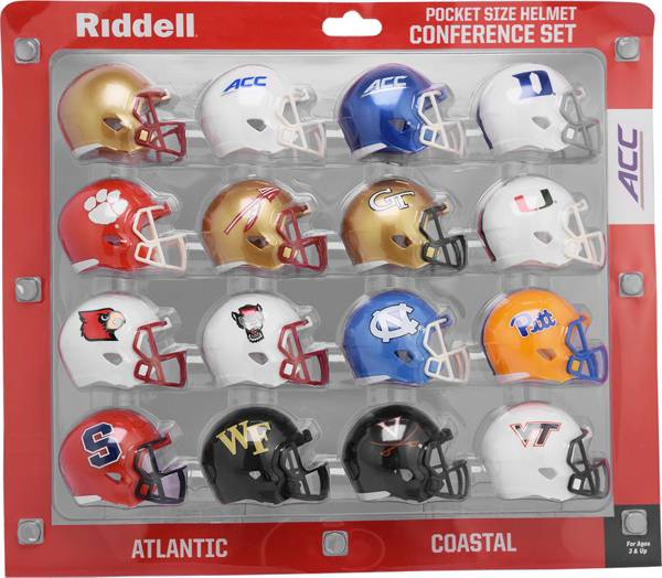Riddell ACC Conference Mini Football Helmet Set product image