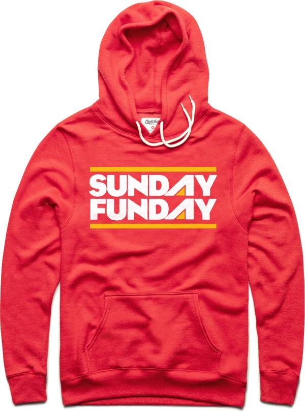 Charlie Hustle Men's KC Sunday Funday Red Pullover Hoodie product image
