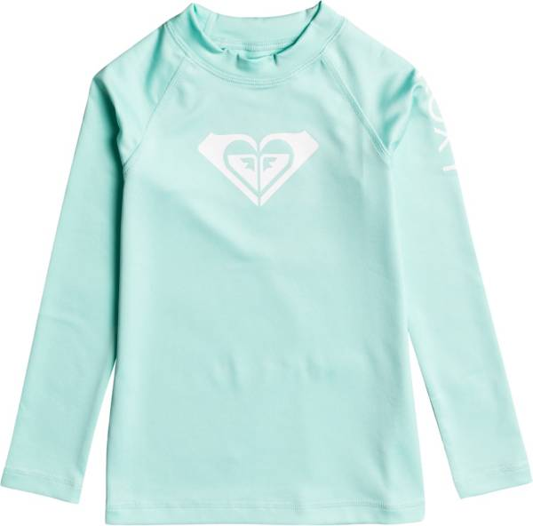 Roxy Little Girls' Whole Hearted Long Sleeve UPF 50 Rashguard product image