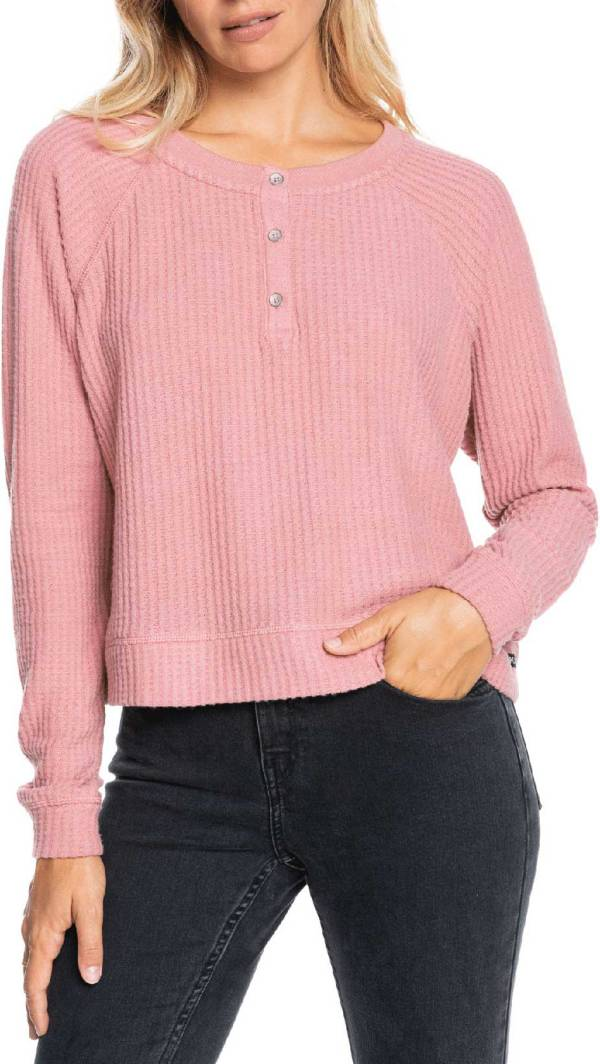 Roxy Women's Take It Home Waffle Crewneck Sweatshirt product image