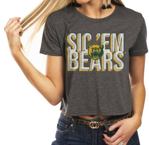 Gameday Couture Women's Baylor Bears Grey Home Team Advantage Vintage Vibe Crop Top product image