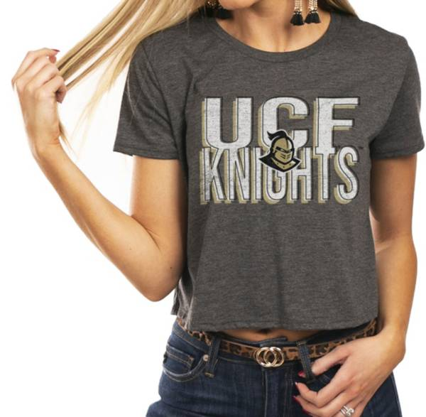 Gameday Couture Women's UCF Knights Grey Home Team Advantage Vintage Vibe Crop Top product image