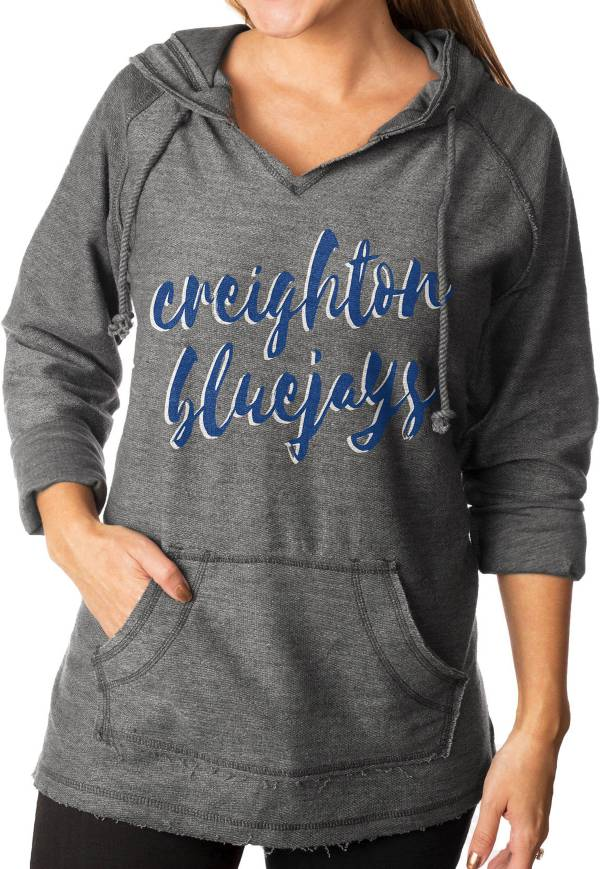 Gameday Couture Women's Creighton Bluejays Grey Keeping Cozy French Terry Pullover Hoodie product image