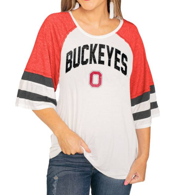 Gameday Couture Ohio State Buckeyes Scarlet Bell Sleeve T-Shirt product image