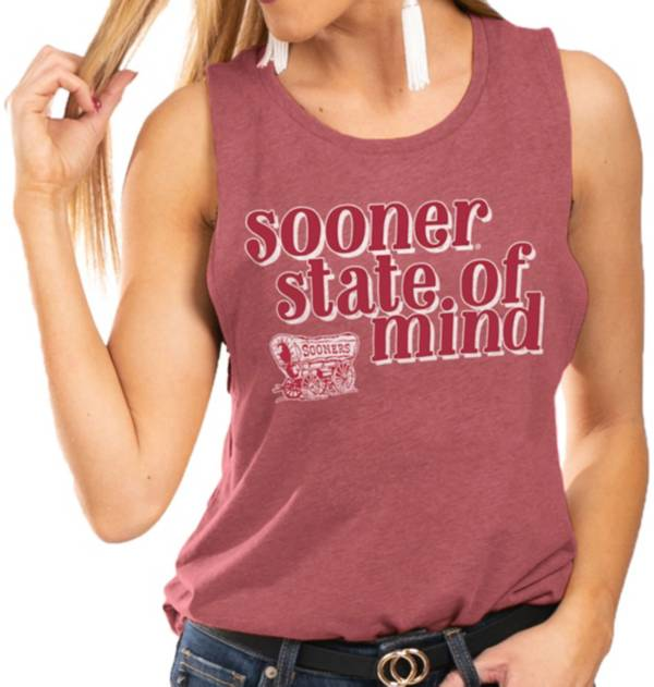 Gameday Couture Women's Oklahoma Sooners Crimson Festival Tank Top product image