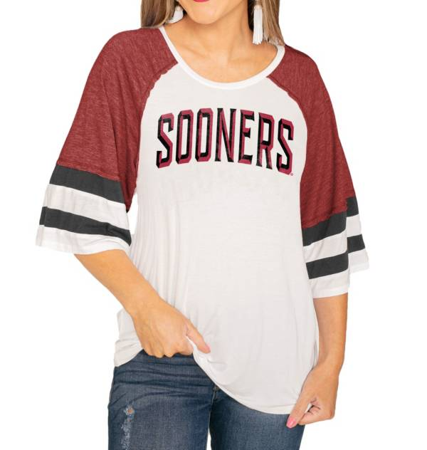 Gameday Couture Oklahoma Sooners Crimson Bell Sleeve T-Shirt product image