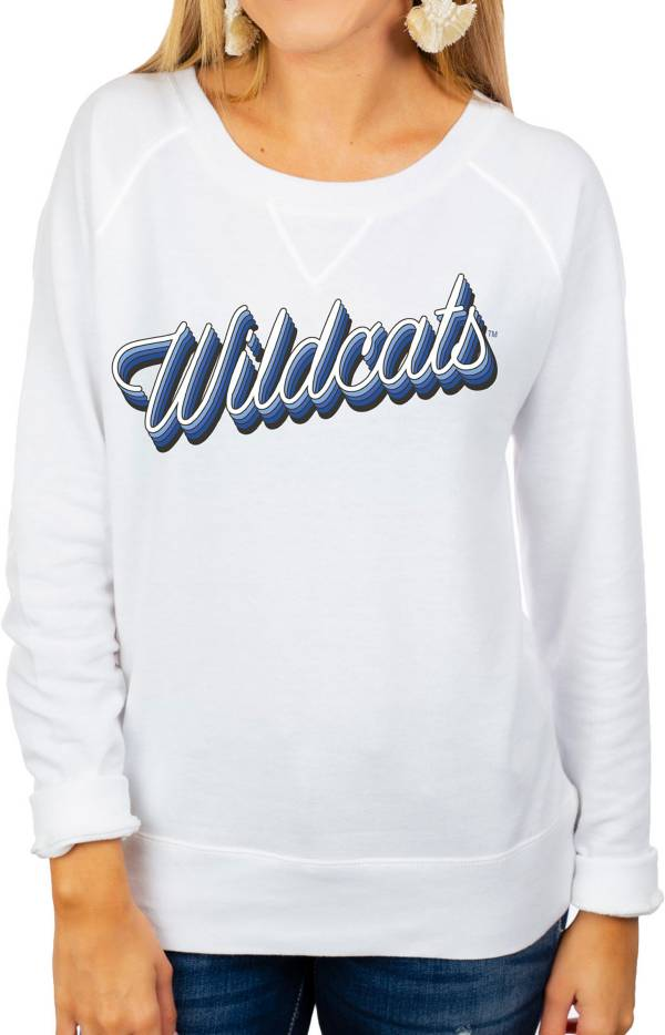 Gameday Couture Women's Kentucky Wildcats Casually Cute French Terry Pullover White Sweatshirt product image