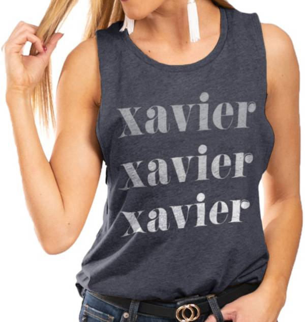 Gameday Couture Women's Xavier Musketeers Blue Festival Tank Top product image